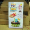 birthday card design for kids 21.5*24CM 100pcs