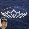 Bridal diamond tiara wedding jewelry