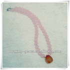 Rose Quartz Necklace*2013 Special Collection by Australia Fashion Designer*