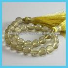 E589 Lemon Quartz Beads