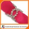 Rhinestone Ribbon Buckles Slider
