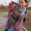 polka dot animal print striped vogue scarves