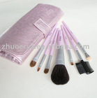 7pcs Goat hair travelling Makeup Brushes