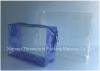 PVC cosmetic Slider Bag