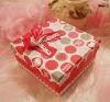 custom made romantic festival gift box paper towel box