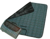 picnic blanket from fleece,polar fleece, polyester,acrylic with injection dying at price of US $1.5-3.5 QL 014