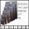 holecover ivory paper shopping/gift bag