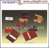 hot sale custom wooden id card holder