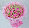 pink plush toys rose flower