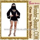 Black arabia women costume
