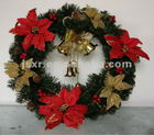 60cm Decorated Christmas Wreath 125 Tips