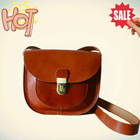 Business Leather Shoulder Bag for Men