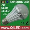 high output 7w e27 g60 5500k led lamp