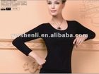 black long sleeve with varous colors