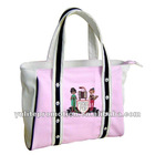 Canvas shopping bag