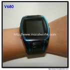 gps watch tracker for persons + mobile phone v680