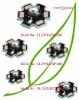 3w high power led 20mm polygonal