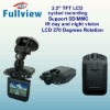"CDVR-W-601----Portable smallest hd car dvr camera With 2.5"" LCD 270 Degrees Rotation"