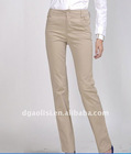 OL straight cotton ladies office wear pant