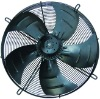 Axial wall mounted extractor fan