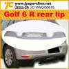 PU RG Style Golf V/Golf MK6/Golf 6 Rear Bumper Diffuser bodystyling for VW