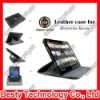 360 Degree Rotatory Stand Leather Case for Motorola Xoom 10.1 Tablet with Elastic Strip