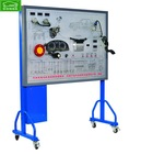 Training demonstration board of automobile cruise control system