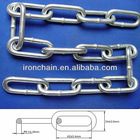 Galvanized round steel link chain,4.5mm diameter