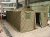 military camping tent