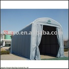 Round Style Car Port with 10 arches in frame for extra frame strength