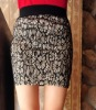 2013 fashion mini lace skirts