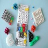 Heat Resistant Silicone Rubber Keypad Conductive Button