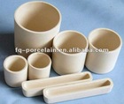FOR HIGH REFRACTORINESS 2400 CELSIUS DEGREE! 99% Ceramic Zirconia Crucible And Crucible Boat