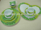 20pcs melamine tableware set / dinner set / mexican tableware