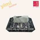 black lace leather room tissue paper box holder
