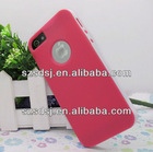 Fashion 2 in 1 mixed color TPU PC gel case for iphone5