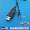 USB TTL - 3.5mm Audio cable