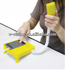 2012 Lastest Anti-radiation grind arenaceous Retro Mobile Handset Dock,Phone Holder Classic Landline Style