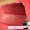 for Ipad2ipad3cartoon leather protective sleeve
