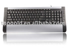 Factory price wholesale 2.4G wireless keyboard with Multi-language versions
