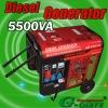 Diesel generator (SDG5500DTE)