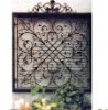 top design wrought iron window