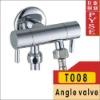 T008 brass chrome bibcock, bidet cold tap, washing mashine faucet, water bibcock, copper bibcock,tap,garden faucet