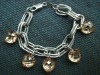 2012 Beautiful Pendant Heart Shape Gemstones Jewelry