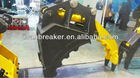 Fixed Bucket Stone Grapple for Hyundai Hitachi Komatsu Excavator