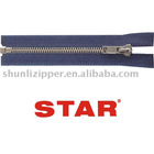5# o/e autolock slider Metal Zipper Plating Nickel