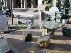 Gray Garden Stone Table