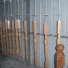 wood stair baluster