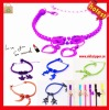 2013 Newest fashion children hand band plastic zipper bands