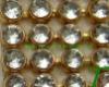most fashion diamond rhinestone mesh for garment